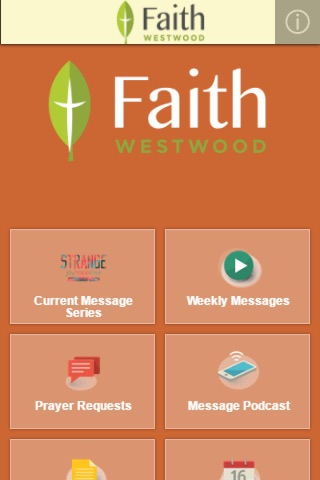 FaithWestwood UMC screenshot 2