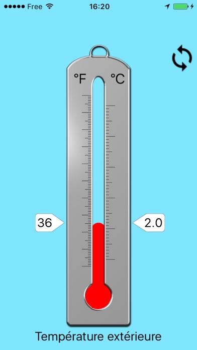 Термометр - температуры атмосферного воздухаСкриншоты 1