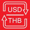 US Dollars / Thai Baht currency converter