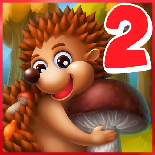 Приключения Ежика 2: игры для детей