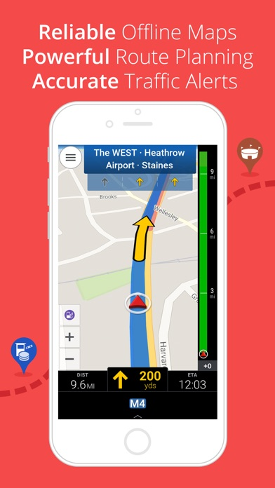 CoPilot Western Europe - Offline Sat-Nav & Maps Screenshot