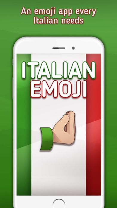 Italian Emoji -  Italian Emojis, Stickers and Gifs Screenshot