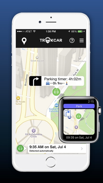 Find My Parked Car App Iphone