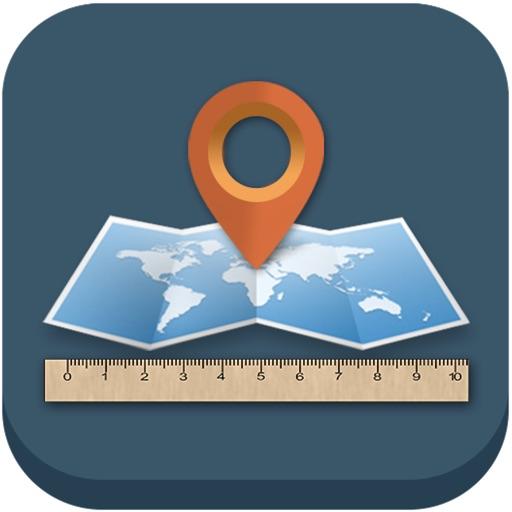 測量 - 使用GPS精確測量距離