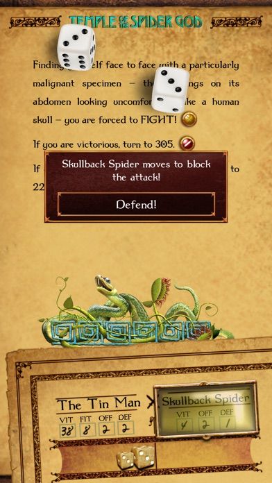 Gamebook Adventures 7: Temple of the Spider God Screenshots
