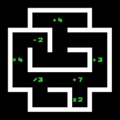 Numplussed - Connect Numbers in a Math Puzzle Maze