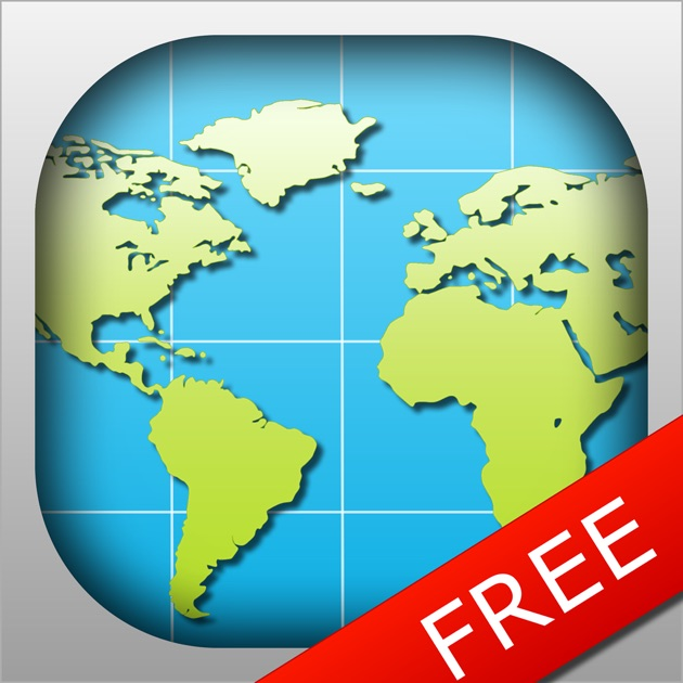World Map FREE On The App Store - World map images