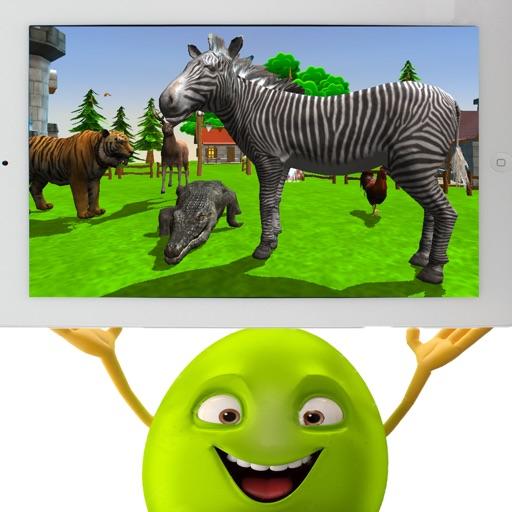 Animal Zoo Games Pro - wild animal simulator iOS App