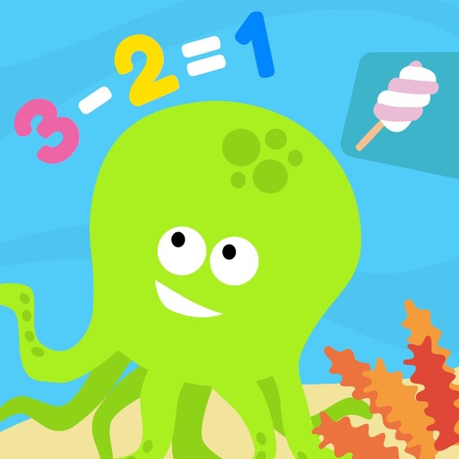 Math Tales Ocean: stories and games for kids