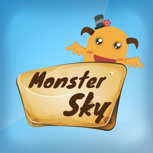 Monster Sky- just tap and collect coins iOS App