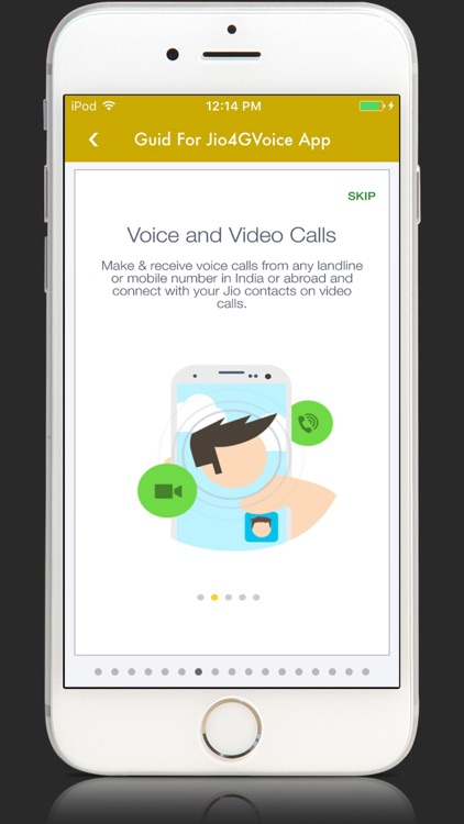 App Guide for Jio4GVoice Call And SMS by Red Bricks