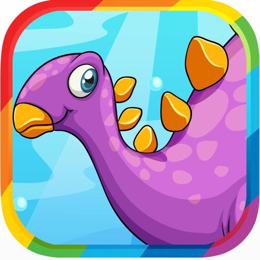 Kids Dinosaur Puzzle Games: Memory Toddlers Free iOS App