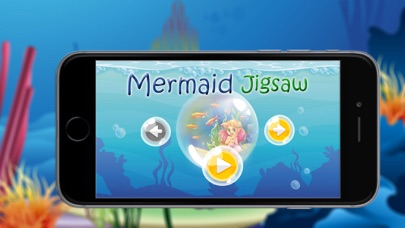 Game For Kids : Mermaid Princess Puzzle Jigsaw