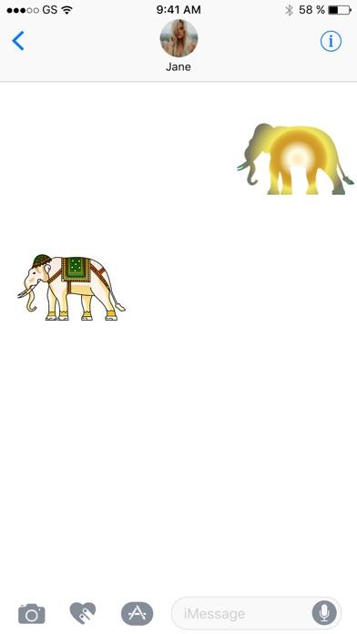Слон наклейка обновленияСкриншоты 2