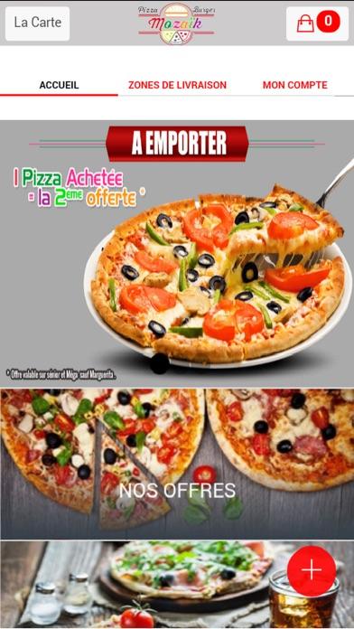 Mozaik PizzaCapture d'écran de 1