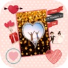 愛框架來創建帶有照片卡