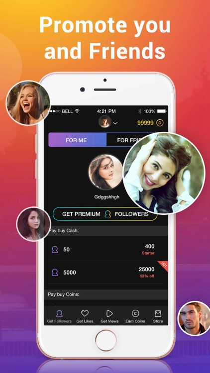 1000 Followers Likes For Instagram Free Likes By Alpha App