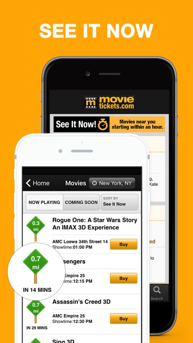 MovieTickets.com - Showtimes and Tickets on the App Store