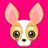 Fawn White Chihuahua Emoji Stickers