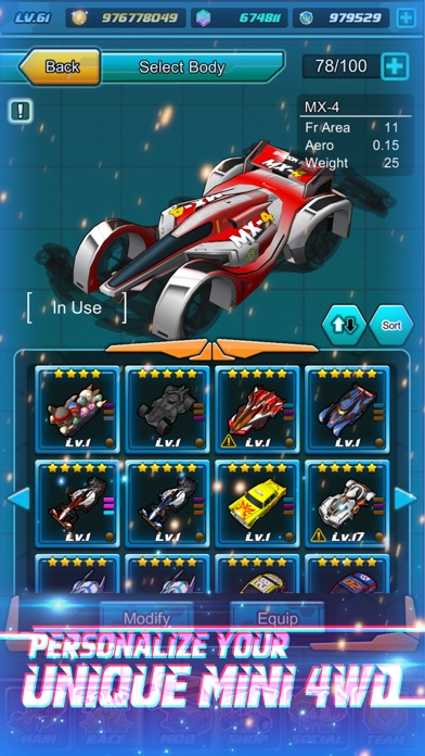 Mini Legend - Mini 4WD Racing Screenshot