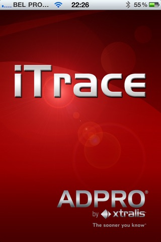 ADPRO iTrace screenshot 1
