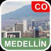 Medellin, Colombia Mapa - PLACE STARS