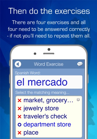 Learn Spanish Audio FlashCards screenshot 4