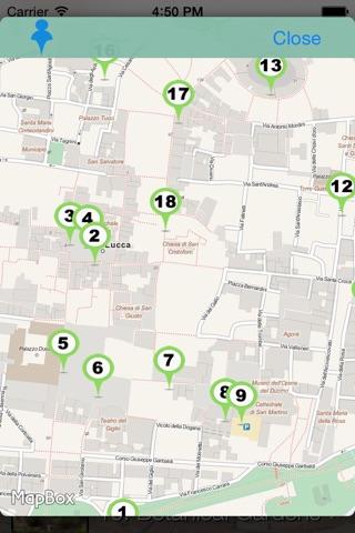 Lucca Audioguide screenshot 4