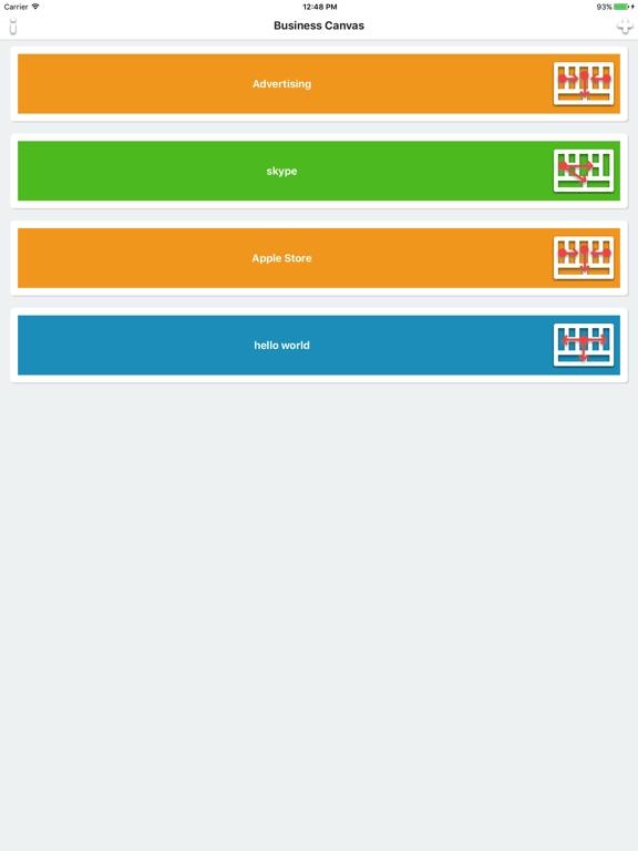 Business Canvas - build your business model Screenshots