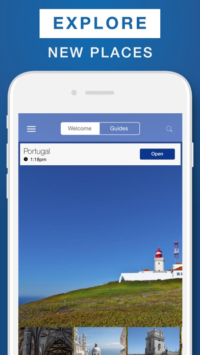 Portugal Travel Guide Offline Map On The App Store - Portugal map app