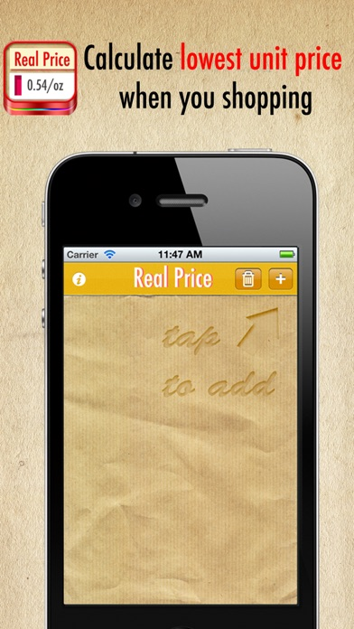 Real Price Lite ~ compare unit prices on the App Store