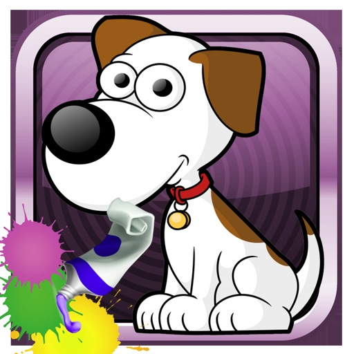 Virtual Pets Coloring Game For Kids iOS App