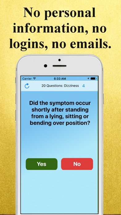download 20 Questions: Dizziness apps 0