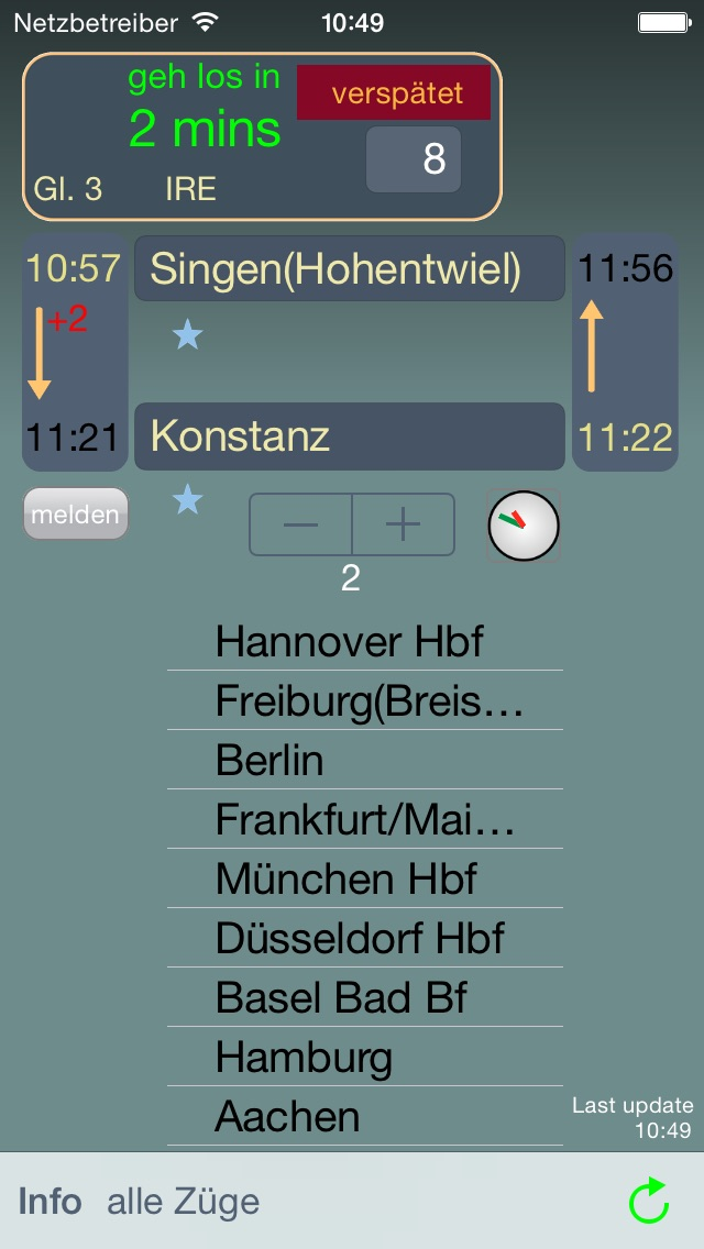 BahnPendel Screenshots