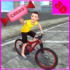 Kids Bicycle Candy Speed Collection Simulator 3D