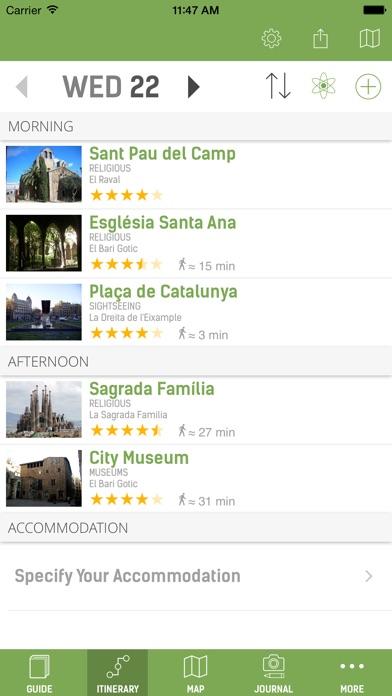 Barcelona Guide - mTrip Screenshot 2
