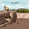 Иерусалим 2017 — офлайн карта, гид, путеводитель!