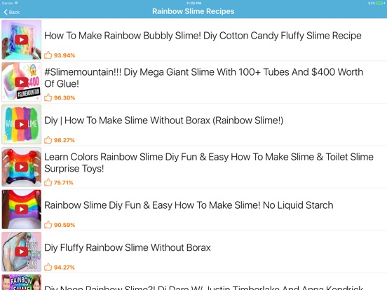 How to make slime slime making on the app store ipad screenshot 4 ccuart Image collections