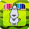 Kids Games And Coloring Pages Goats Version