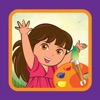 Drawing & Coloring for dora girl explorer Edition