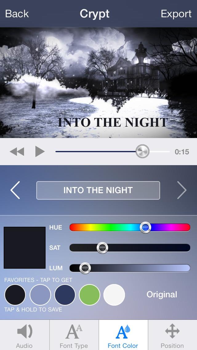 Intro Designer for iM... screenshot1