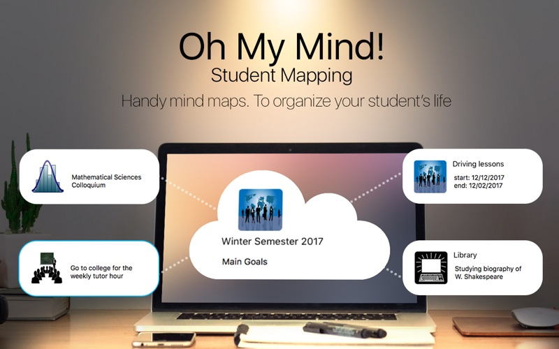 Oh My Mind Student Mapping Screenshot - 1