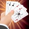 ① Spider Solitaire Blitz — casino classic cards