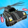 Shooting Flying Car : Helicopter Car Shooting