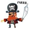 Cute Pirate Stickers