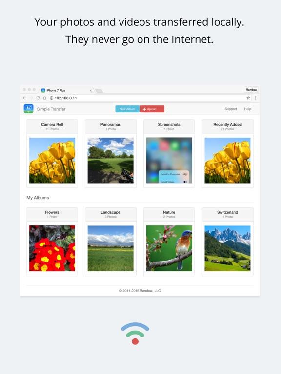Simple Transfer Pro - Photo Screenshots