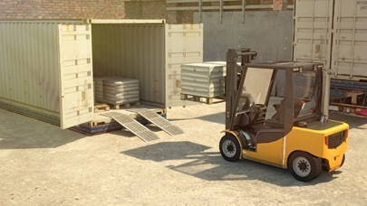 3D Forklift Parking C...