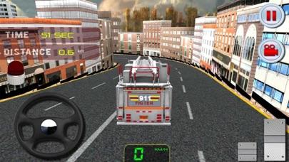 911緊急救助消防車運転シミュレータのスクリーンショット4