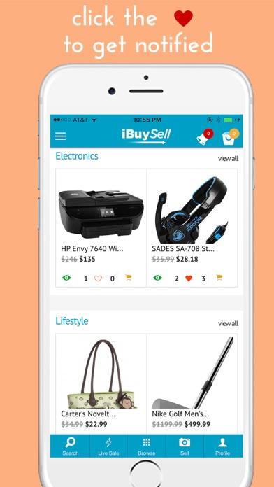 IBuySell - Achats en ligne. Acheter et vendreCapture d'écran de 3