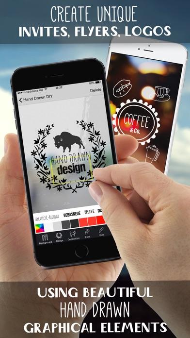 Hand Drawn Logo Design Screenshot